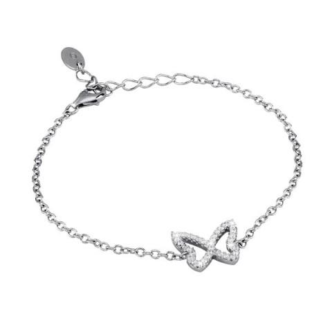 bracciale-argento-mabina-farfalla