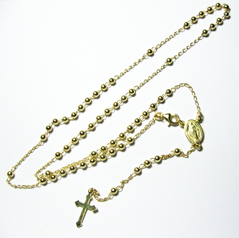 rosario-collana-argento-dorato