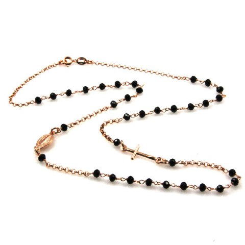 collana-rosario-argento-dorato