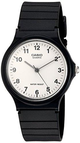 Orologio Casio analogico nero in gomma