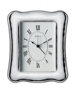 orologio sveglia argento 925% cm9x13 Valenti Argenti
