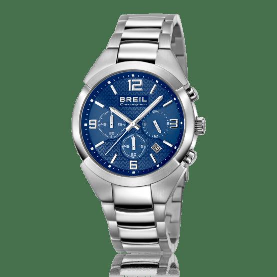 breil cronografo uomo acciaio e quadrante blu
