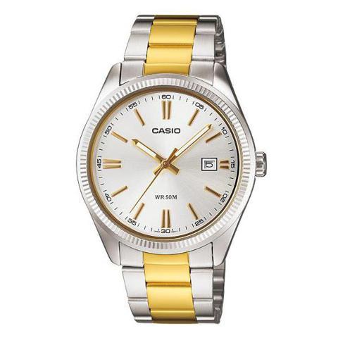 orologio casio oro e acciaio