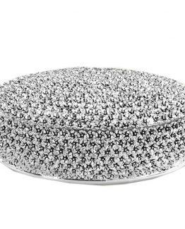 portagioie in argento rotondo leonardo biancospino