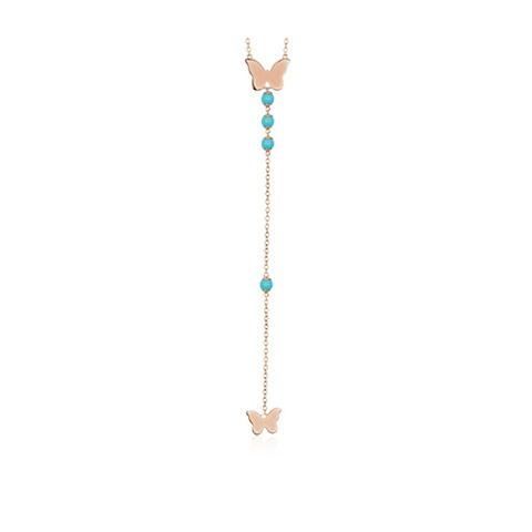 mabina gioielli- collana pendente frfalla