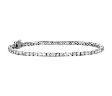 Bracciale Tennis in argento 925 con zirconi bianchi