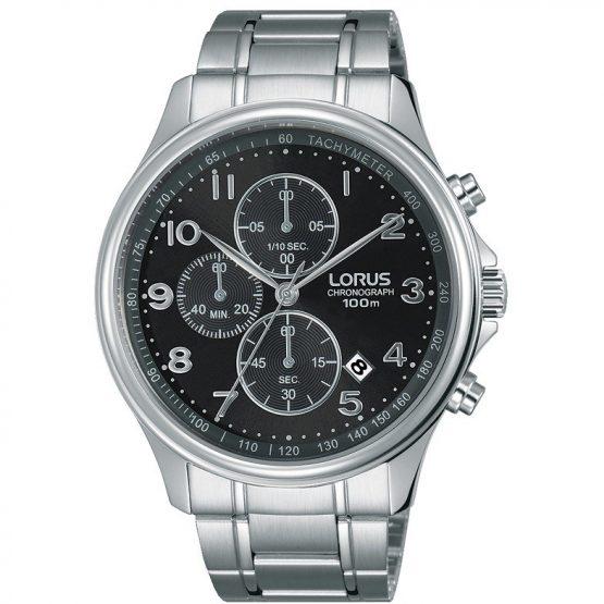 Orologio Lorus Cronografo in acciaio da uomo