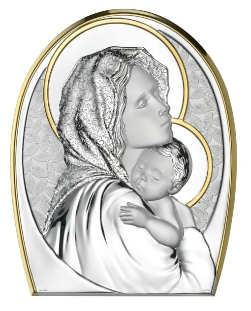 madonna dl ferruzzi icona sacra da tavolo e da parete
