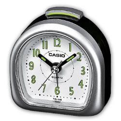 Sveglia Casio analogica con numeri e suoneria TQ-148 grigio e nero