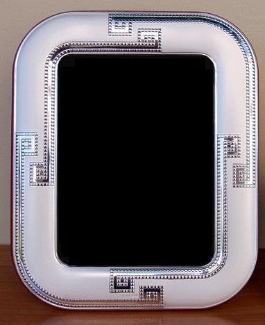 Portafoto con cornice in argento 925 cm 18x24 Argenti SIMA