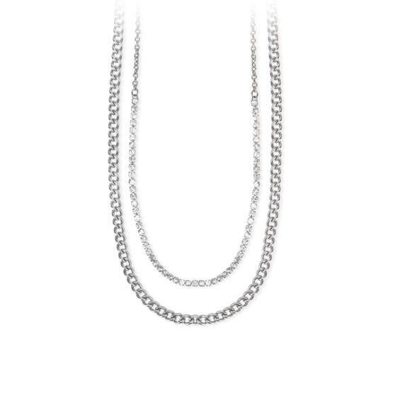 Collna collier 2 Jewels in acciaio cm 46 Codice 251694