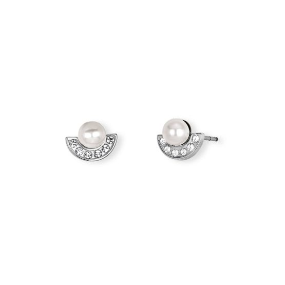 Orecchini in acciaio 316L con perle e cristalli 2Jewels codice 261289