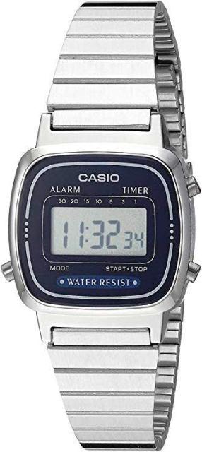 Orologio-Casio-vintage-digitale-LA670WA-2DF-quarzo
