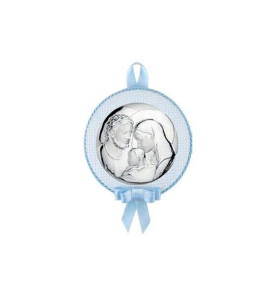 Capoculla carillon sacra famiglia in argento bimbo Atelier ae0761-c