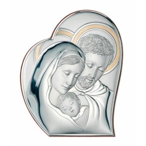 sacra-famiglia-valenti-81050 4l-oro Cm.21,5 X 26