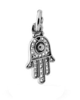 Mano di Fatima ciondolo in argento 925